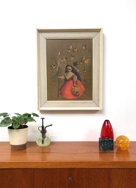 60s Old Stylish Vintage Retro Print Wall Art Mexican Alejandro Hidalgo