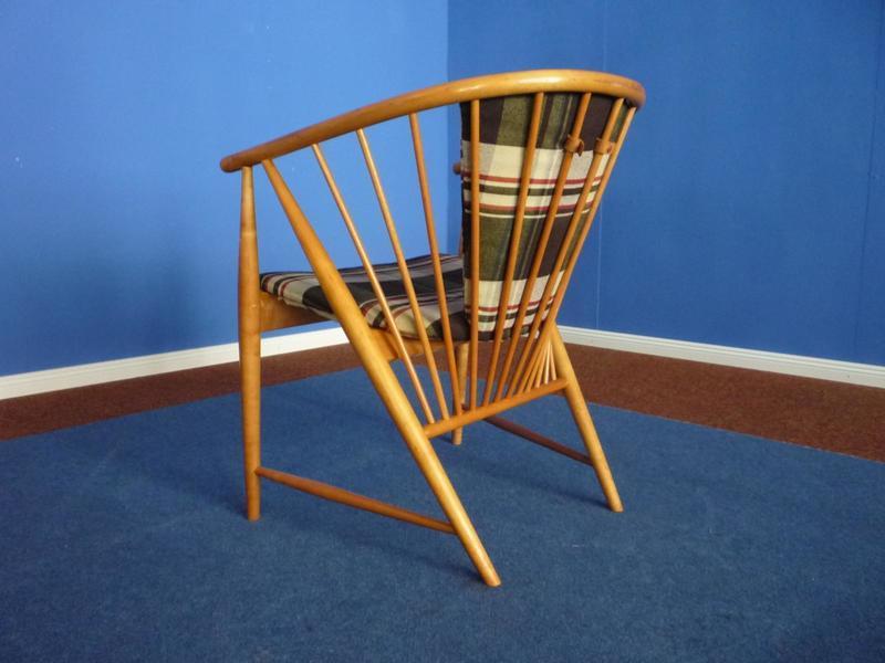 Sun Feather Armchair By Sonna Rosen For Nassjo Stolfabrik