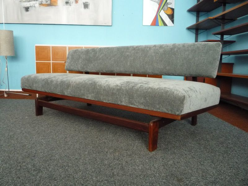 German Model 470 Teak Daybed By Hans Bellmann For Wilkhahn, 1960s