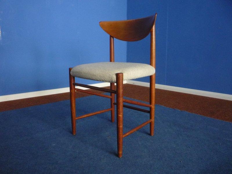Mid Century Model 316 Chair By Peter Hvidt & Orla Mølgaard Nielsen For Søborg Møbelfabrik