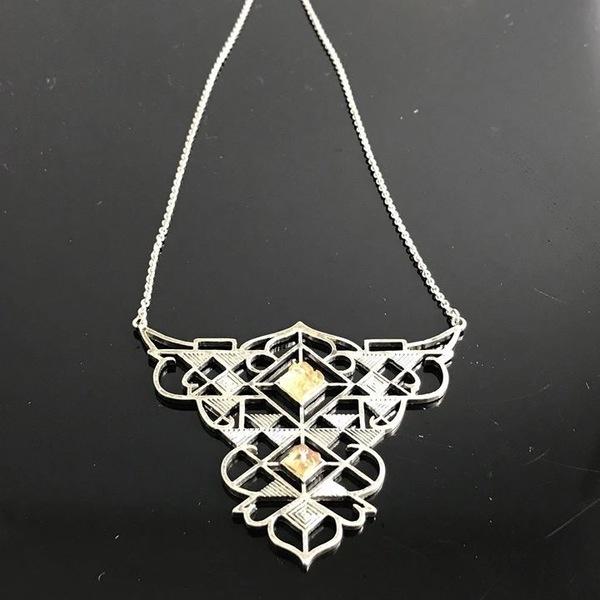 Beautiful Freedom Necklace, Handmade, 1950s