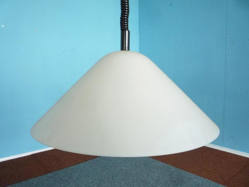 Vintage Hanging Lamp By Harvey Guzzini