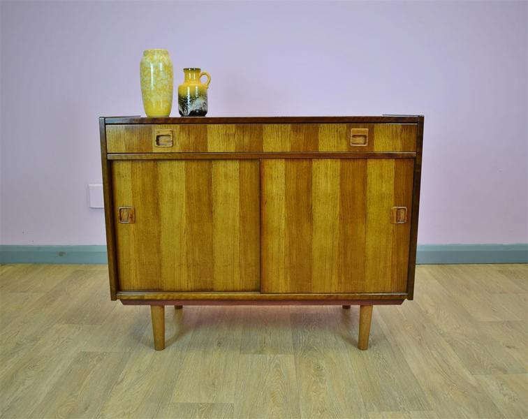 Mid Century Retro Vintage Danish Rosewood Sideboard Tv Cabinet Cupboard 60s 70s