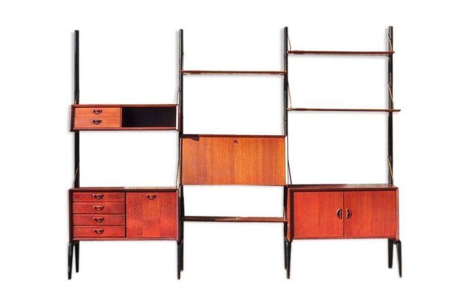 Wall Unit By Louis Van Teeffelen For Webe, 1960s