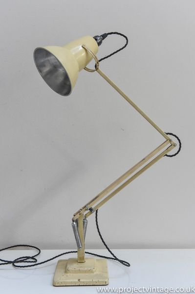 Anglepoise Desk Lamp In Original Condition C 1950 In Cream
