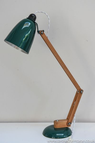 Very Original  Early Production Vintage Maclamp In Dark Green/ Conran