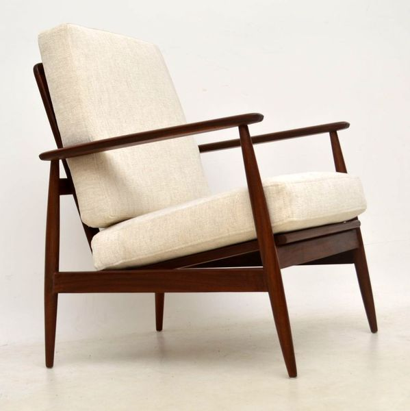 1960's Afromosia Vintage Armchair