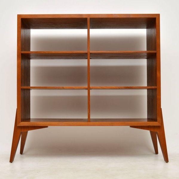 1960's Vintage Teak Bookcase / Room Divider