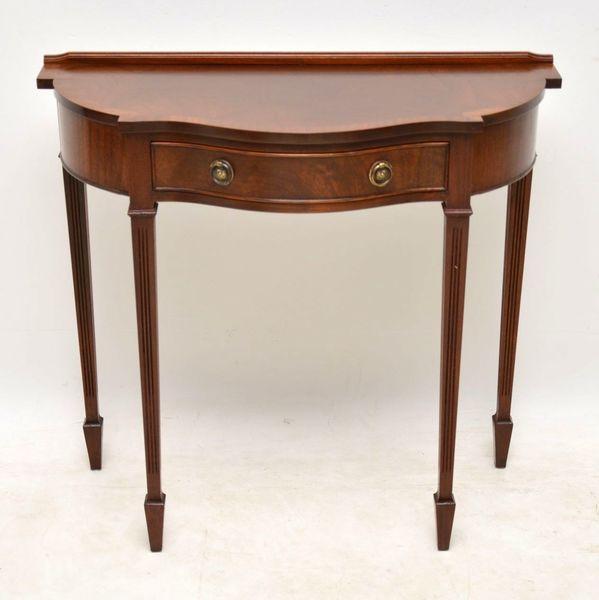 Antique Mahogany Georgian Style Console Table