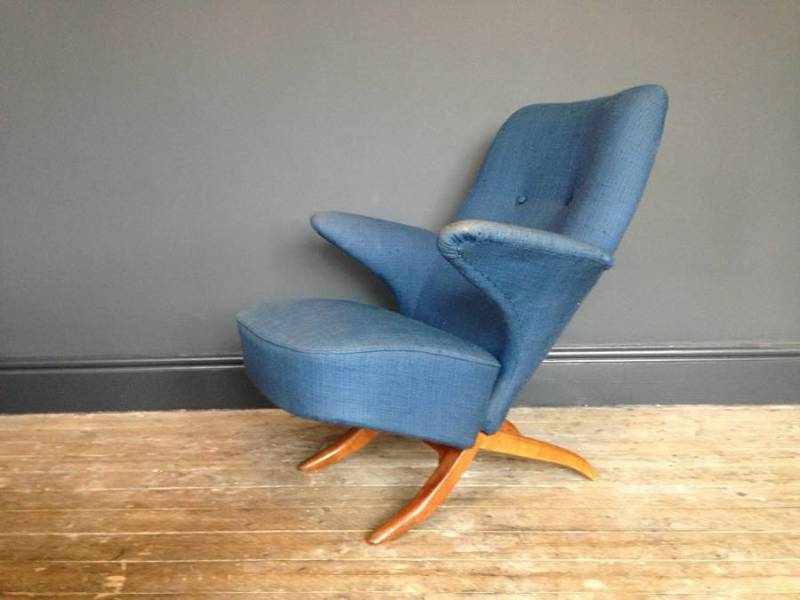 Penguin Chair By Theo Ruth For Artifort