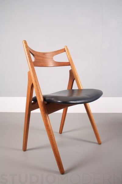 Set Of Four Hans Wegner For Carl Hansen Ch29 Seabuck Chairs photo 1