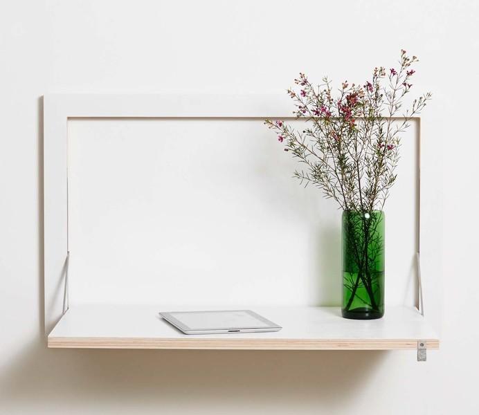 Fläpps Secretary/Wall Desk   White