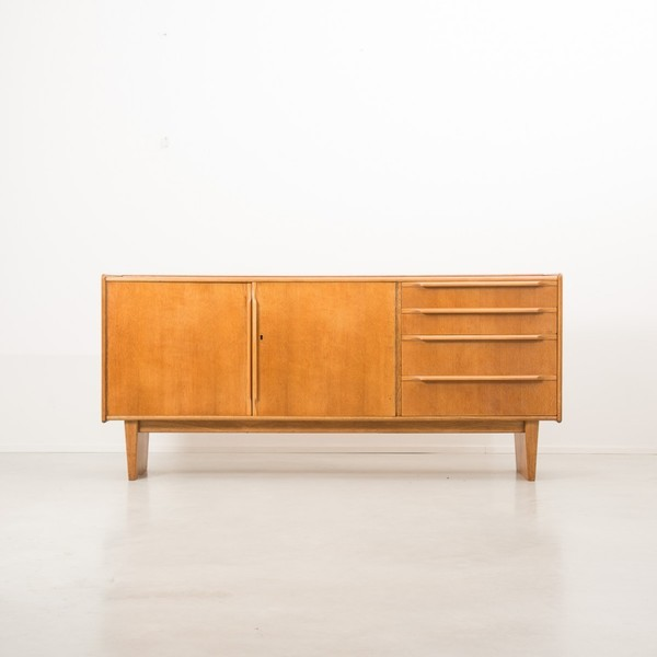 Cees Braakman For Pastoe Oak Series Sideboard photo 1