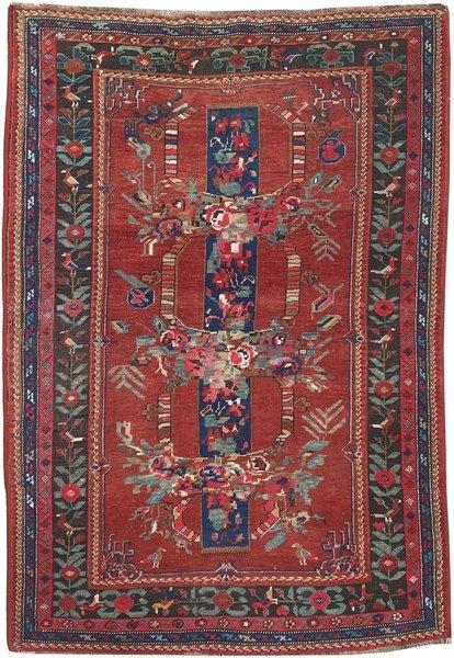 Vintage Caucasian Karabagh Rug 1.94m X 1.27m